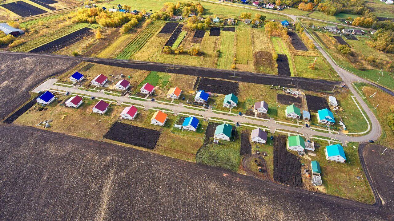 Субсидии на строительство жилья в сельской местности