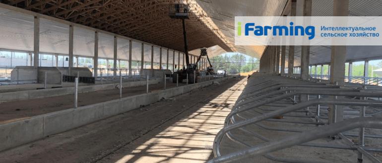 Новое строительство фермы